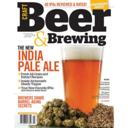 Craft Beer & Brewing magazine cover